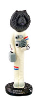 Chow Black Astronaut Doogie Collectable Figurine