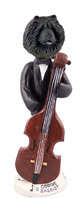 Chow Black Bassist Doogie Collectable Figurine