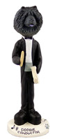 Chow Black Conductor Doogie Collectable Figurine