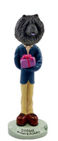 Chow Black Anniversary Doogie Collectable Figurine