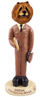 Chow Red Commercial Driver Doogie Collectable Figurine