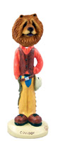 Chow Red Cowboy Doogie Collectable Figurine