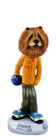Chow Red Bowler Doogie Collectable Figurine