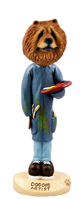Chow Red Artist Doogie Collectable Figurine