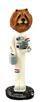 Chow Red Astronaut Doogie Collectable Figurine