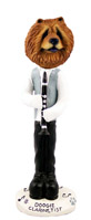 Chow Red Clarinetist Doogie Collectable Figurine