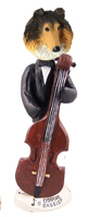 Collie Sable Bassist Doogie Collectable Figurine