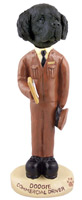 Newfoundland Commercial Driver Doogie Collectable Figurine