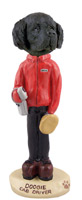 Newfoundland Cab Driver Doogie Collectable Figurine