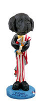 Newfoundland 4th of July Doogie Collectable Figurine