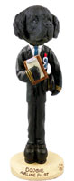 Newfoundland Airline Pilot Doogie Collectable Figurine