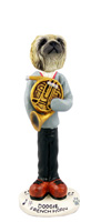 Pekingese French Horn Doogie Collectable Figurine