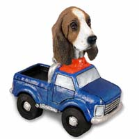 Basset Hound Pickup Doogie Collectable Figurine