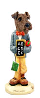 Airedale Teacher Doogie Collectable Figurine