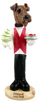 Airedale Waiter Doogie Collectable Figurine