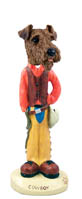 Airedale Cowboy Doogie Collectable Figurine