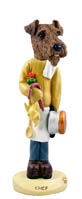 Airedale Chef Doogie Collectable Figurine