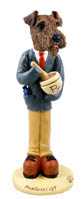 Airedale Pharmacist Doogie Collectable Figurine