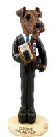 Airedale Airline Pilot Doogie Collectable Figurine