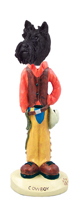 Scottish Terrier Cowboy Doogie Collectable Figurine
