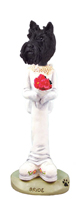 Scottish Terrier Bride Doogie Collectable Figurine