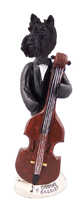 Scottish Terrier Bassist Doogie Collectable Figurine