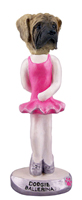 Mastiff Ballerina  Doogie Collectable Figurine