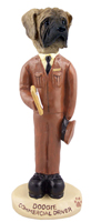 Mastiff Commercial Driver Doogie Collectable Figurine
