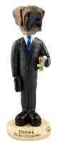 Mastiff Businessman Doogie Collectable Figurine
