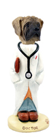 Mastiff Doctor Doogie Collectable Figurine