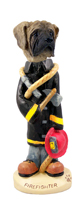 Mastiff Fireman Doogie Collectable Figurine