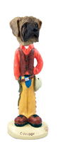Mastiff Cowboy Doogie Collectable Figurine