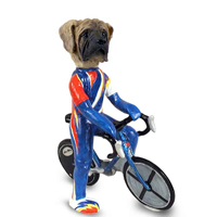 Mastiff Bicycle Doogie Collectable Figurine