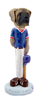 Mastiff Baseball Doogie Collectable Figurine