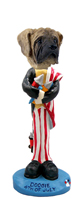 Mastiff 4th of July Doogie Collectable Figurine