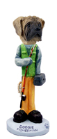 Mastiff Fisherman Doogie Collectable Figurine