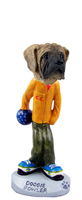 Mastiff Bowler Doogie Collectable Figurine