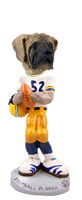 Mastiff Football Player Doogie Collectable Figurine