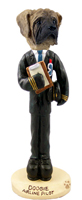 Mastiff Airline Pilot Doogie Collectable Figurine