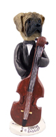 Mastiff Bassist Doogie Collectable Figurine