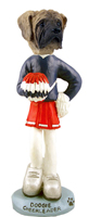 Mastiff Cheerleader Doogie Collectable Figurine