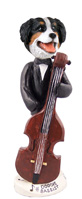 Bernese Mountain Dog Bassist Doogie Collectable Figurine