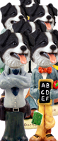 Border Collie Doogie Characters