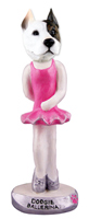 Pit Bull Terrier Ballerina  Doogie Collectable Figurine