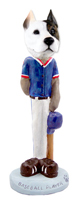 Pit Bull Terrier Baseball Doogie Collectable Figurine