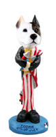 Pit Bull Terrier 4th of July Doogie Collectable Figurine