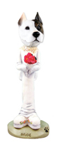 Pit Bull Terrier Bride Doogie Collectable Figurine