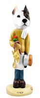 Pit Bull Terrier Chef Doogie Collectable Figurine