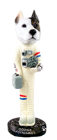 Pit Bull Terrier Astronaut Doogie Collectable Figurine