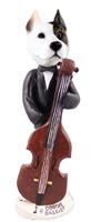 Pit Bull Terrier Bassist Doogie Collectable Figurine